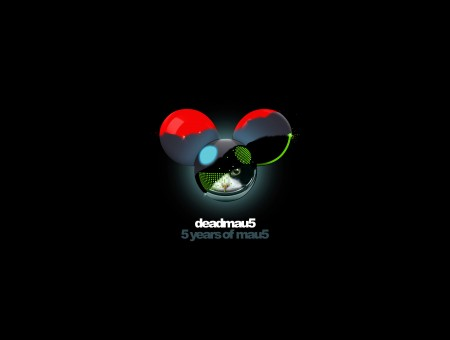 Black Green Red Deadmau5 5 Yeaars Of Mau5