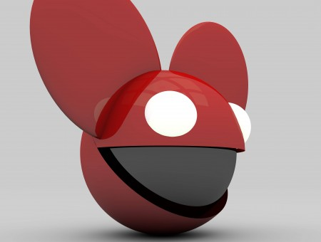 Red Mouse 3d Illustration