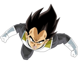 Desktop Wallpaper: Vegeta Of Dragon Bal...