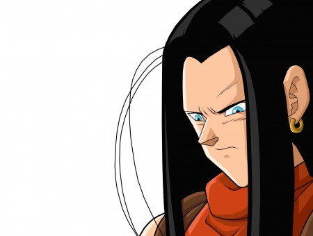 Super 17 From Dragonball Z