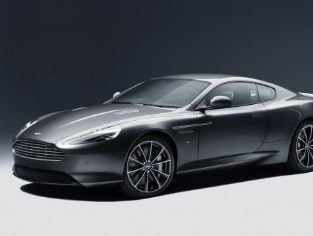Grey Aston Martin DB10