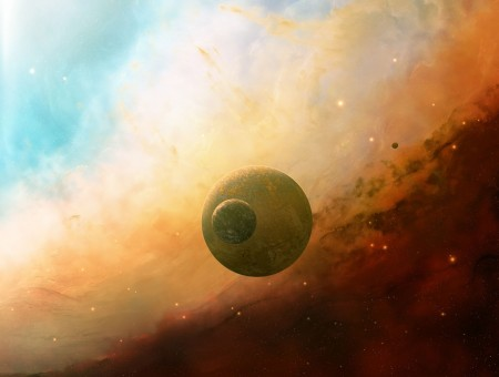 Planets On Space
