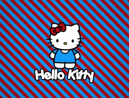 White And Blue Hello Kitty Clip Art