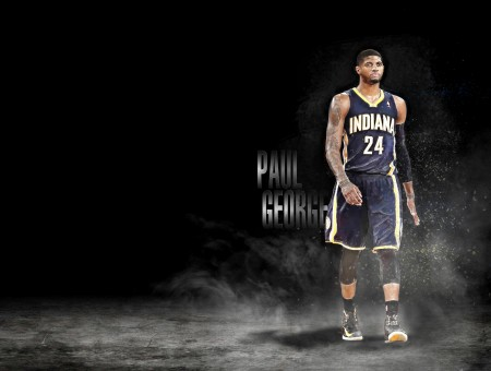 Paul George Of Indiana Pacers