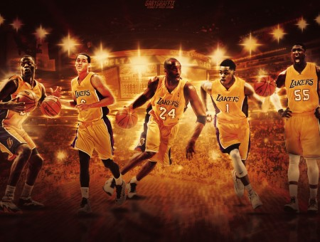 Nba L A Lakers Team