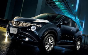 Desktop Wallpaper: Black Nissan Juke