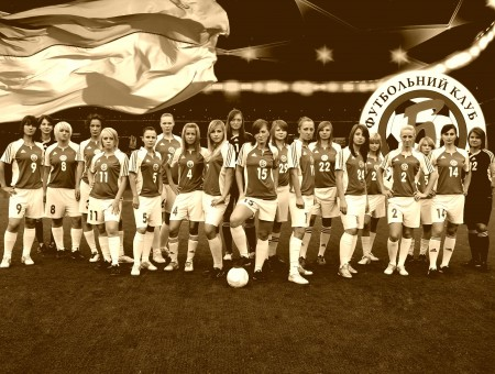 Women's Football Team Picture