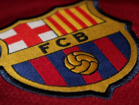 Red Textile With FCB Patch