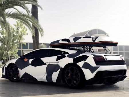 Black And White Camo Lamborghini Gallardo Wallpapers Every Day