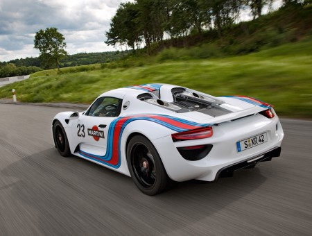 White Martini Racing Porsche 918
