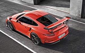 Desktop Wallpaper: Red Porsche 911 Turb...