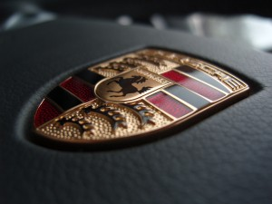 Desktop Wallpaper: Porche Emblem