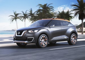Desktop Wallpaper: Grey Nissan SUV On R...