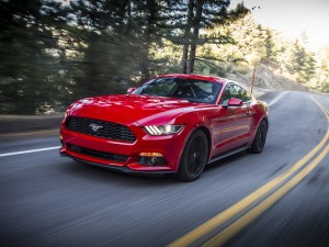 Desktop Wallpaper: Red Ford Mustang GT3...