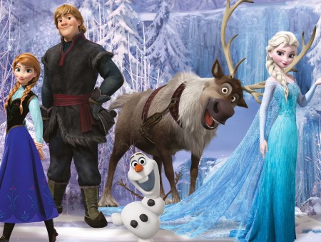 The Frozen Characters