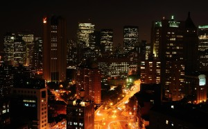 Desktop Wallpaper: High Rise Buildings ...