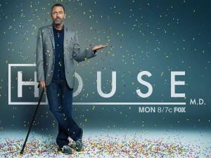 Desktop Wallpaper: House Tv Show Poster