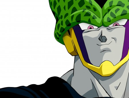 Cell Dragonball Z Illustration