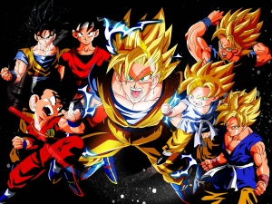 Desktop Wallpaper: Super Saiyan Level 2...