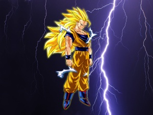 Desktop Wallpaper: Goku In Super Saiyan...
