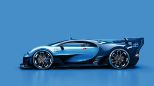 Desktop Wallpaper: Blue Sportscar