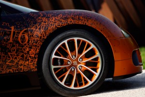 Desktop Wallpaper: Orange And Black Car...