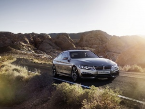 Desktop Wallpaper: Gray BMW Coupe