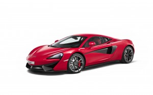 Desktop Wallpaper: Red McLaren 540C