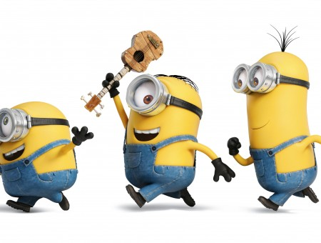 Bob Kevin And Stuart From Minions