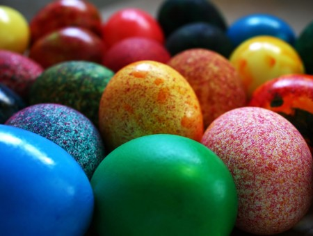 Easter Eggs With Different Design