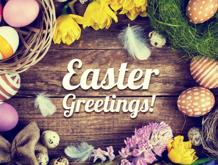Easter Greetings Decoration