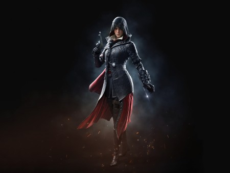 Assassin Screen Game Character Wallpaper