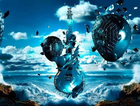 Blue Guitar Artwork