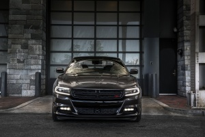Desktop Wallpaper: Black Dodge Charger