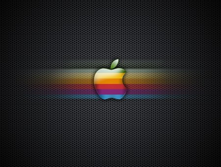 Multicolored Apple Logo