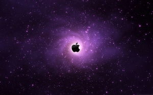 Desktop Wallpaper: Photo Of Purple Appl...