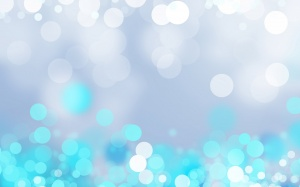 Desktop Wallpaper: Blue And Silver Flas...