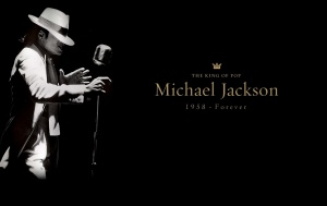Desktop Wallpaper: The King Of Pop Mich...
