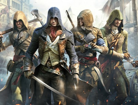 Assassin's Creed Unity Illustration