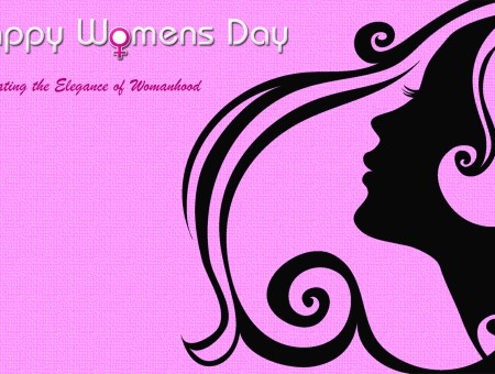 Happy Womens Day Celebrating The Elegance Of Womanhood
