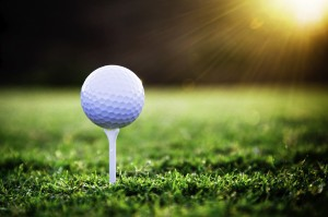 Desktop Wallpaper: Golf Ball On Stick A...