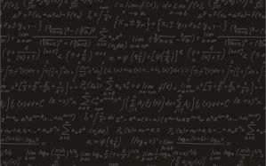 Desktop Wallpaper: Mathematical equatio...