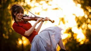 Desktop Wallpaper: Lindsey Stirling