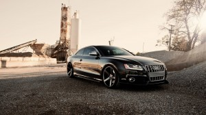 Desktop Wallpaper: Black Audi coupe