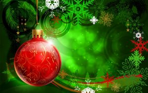 Desktop Wallpaper: Christmas graphics w...