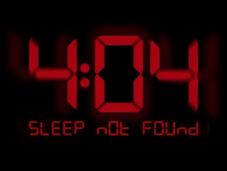 4:04 sleep not found