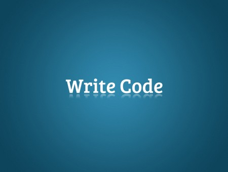 Write code text