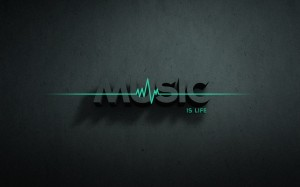 Desktop Wallpaper: Music is life