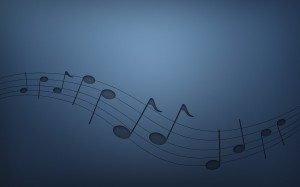 Desktop Wallpaper: Musical notes