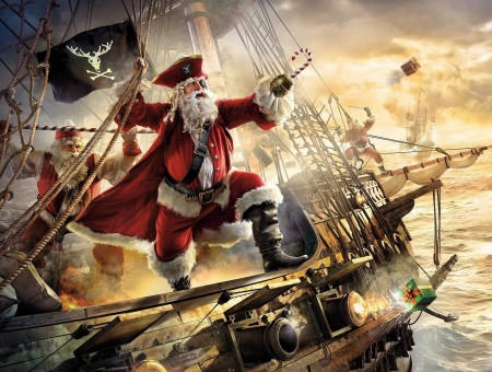 Pirate Santa Claus